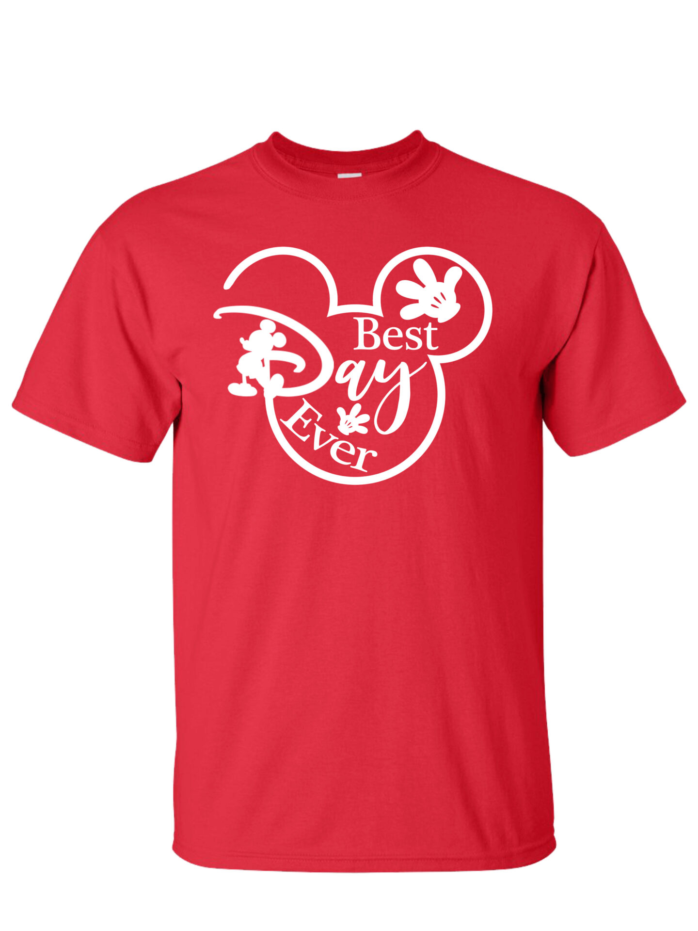 Best Day Ever Red T-Shirt